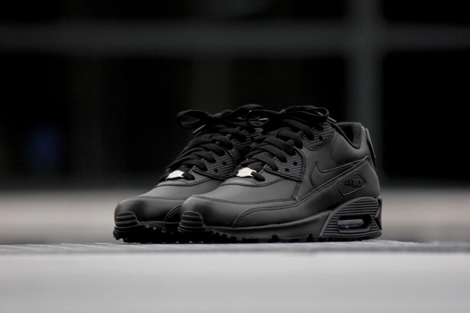 nike air max 90 leather noire et kaki