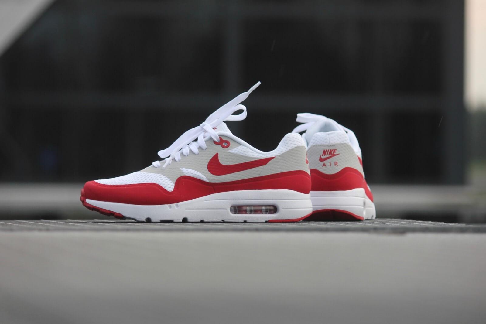 Nike Air Max 1 Black White Varsity Red | SneakerFiles