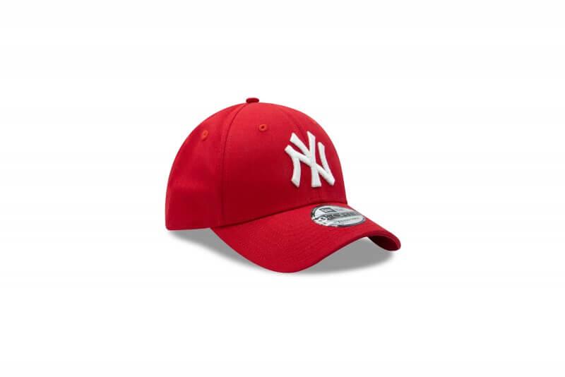 New Era 940 League Basic NY Yankees Scarlet Red/White