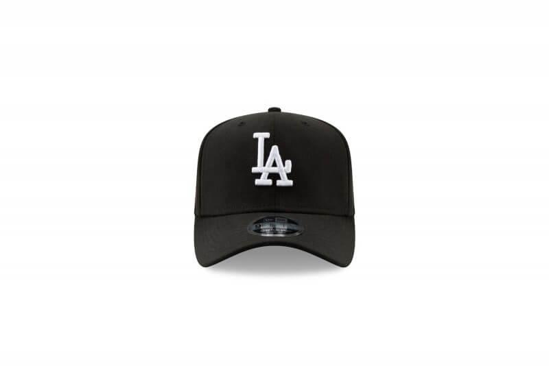 New Era Stretch Snap 9FIFTY LA Dodgers Black/White