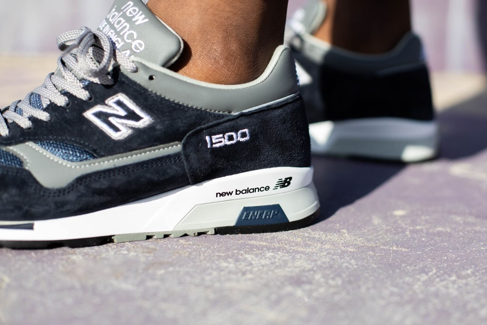 New Balance M1500PNV Navy/Grey Made in England - 780831-60-10