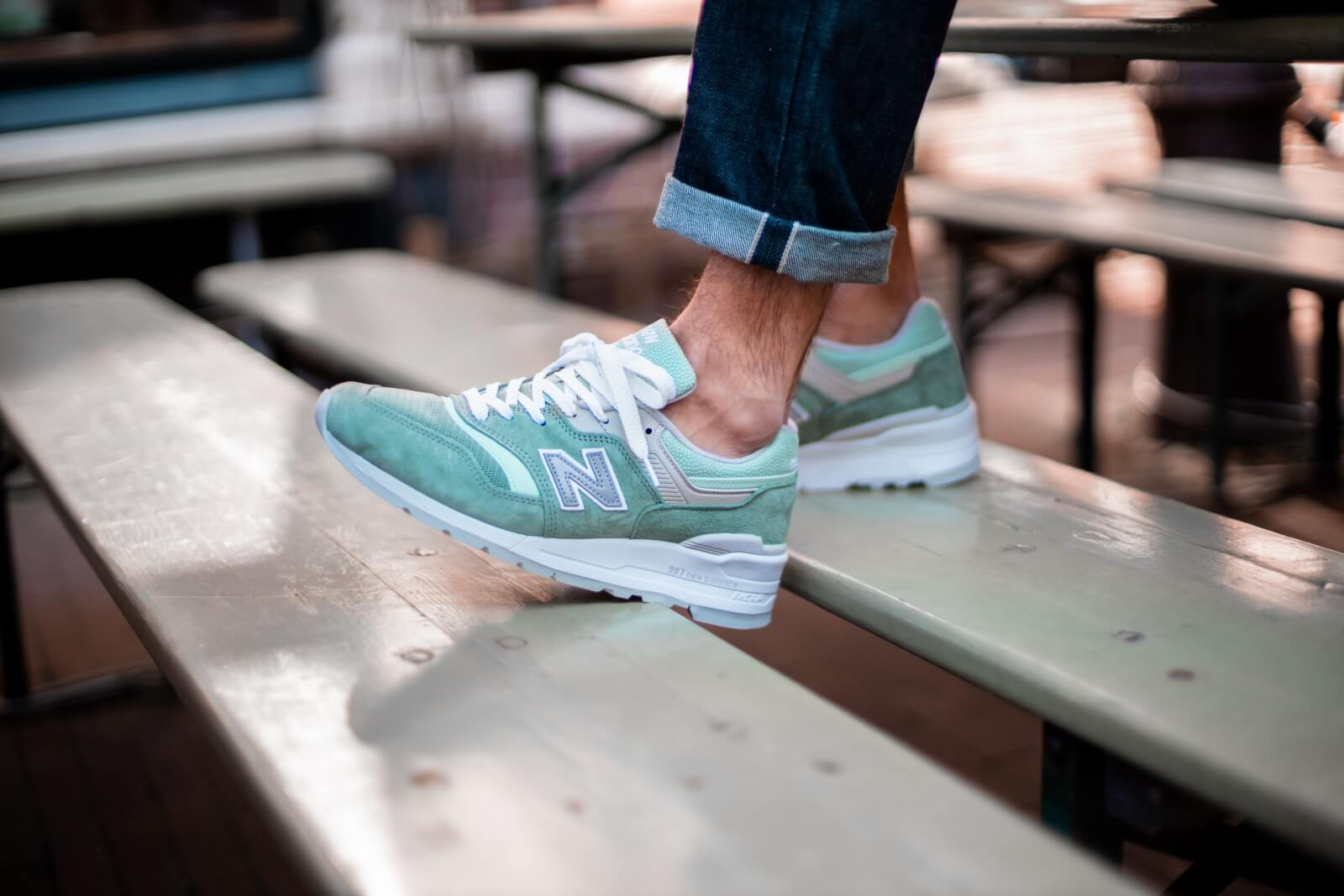 New Balance M997SOB Less is More Mint/Green Made in USA - M997SOB