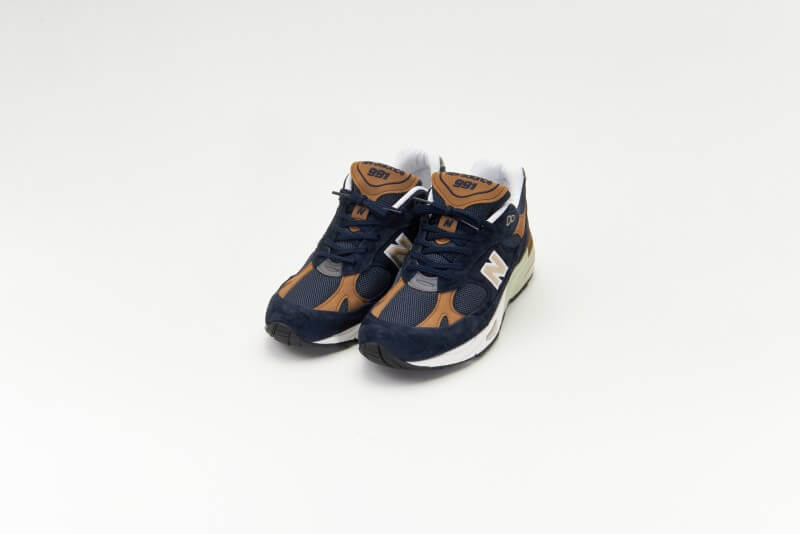 New Balance M991DNB Navy/Brown Made in England