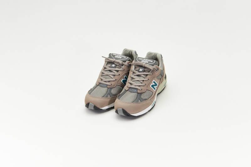 New Balance Women's W991ANI 20th Anniversary Grey/Green Made in England
