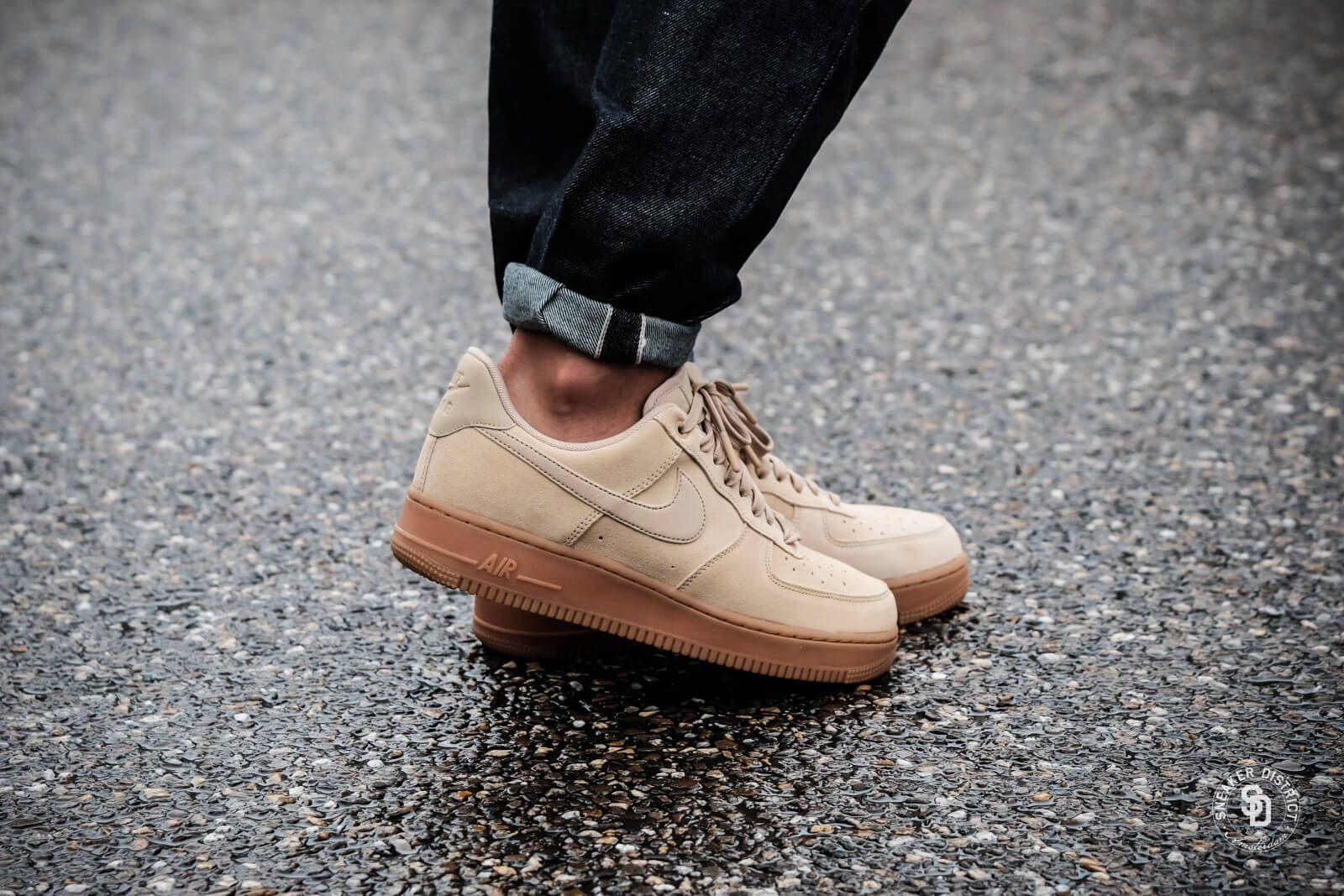 Nike Air Force 1 07 Lv8 Suede Beige Flash Sales, UP TO 70% OFF