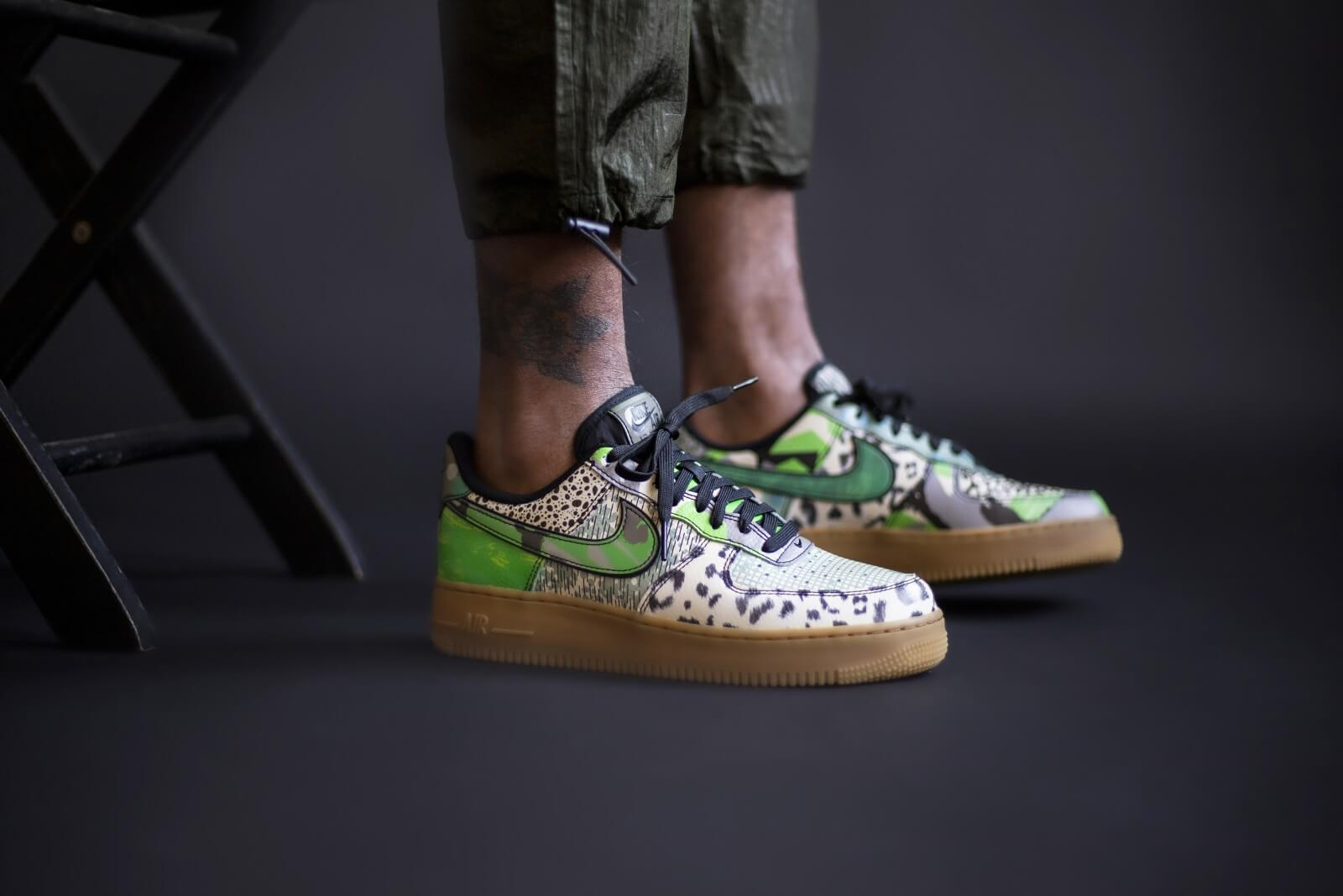 Nike Air Force 1 '07 Low 'City Of Dreams' Green