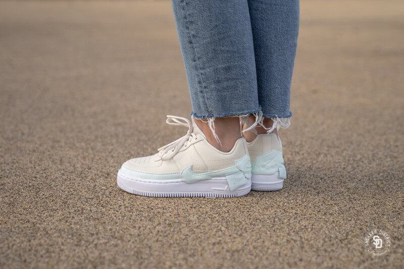 Nike Air Force 1 Jester XX Light CreamGhost Aqua White AO1220 201