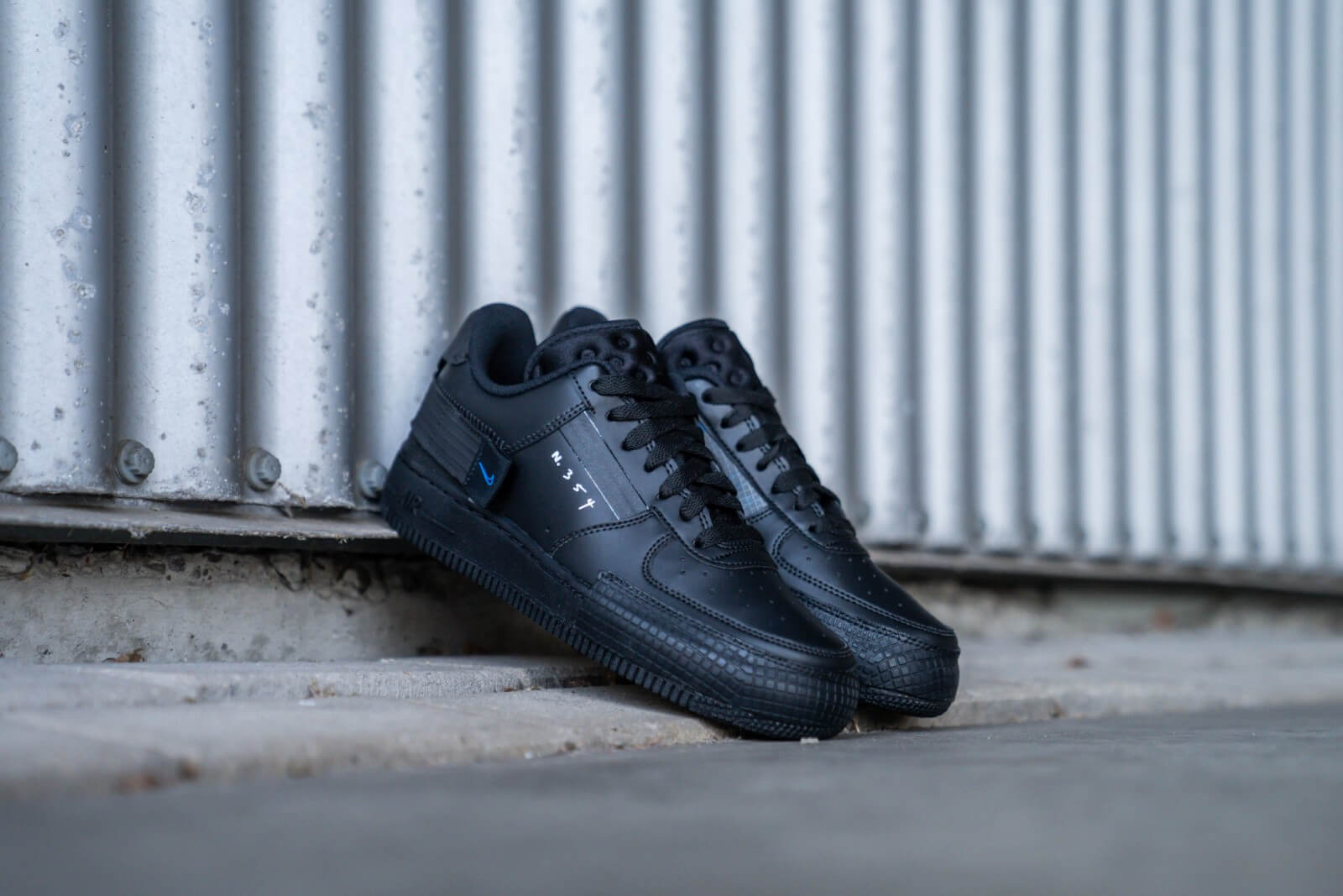Nike Air Force 1 Type Black Royal AT7859 001 Restocks