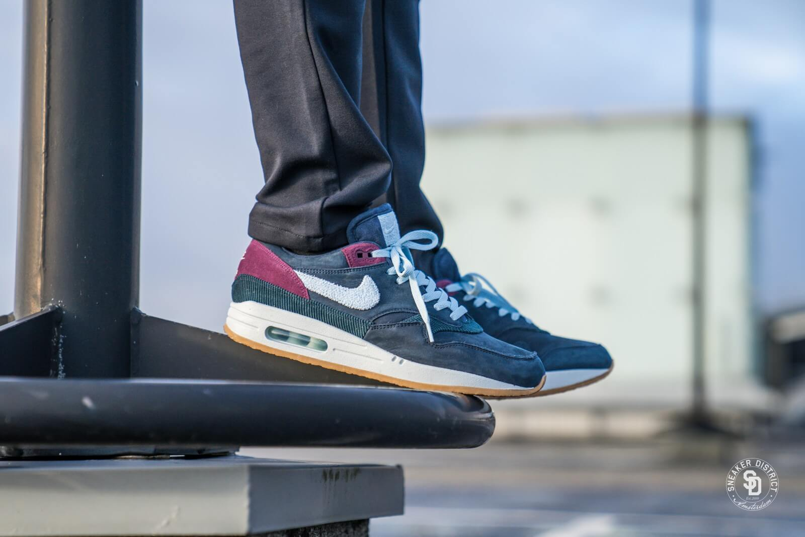 Nike Air Max 1 Dark ObsidianCobalt Tint Ocean Bliss CD7861 400