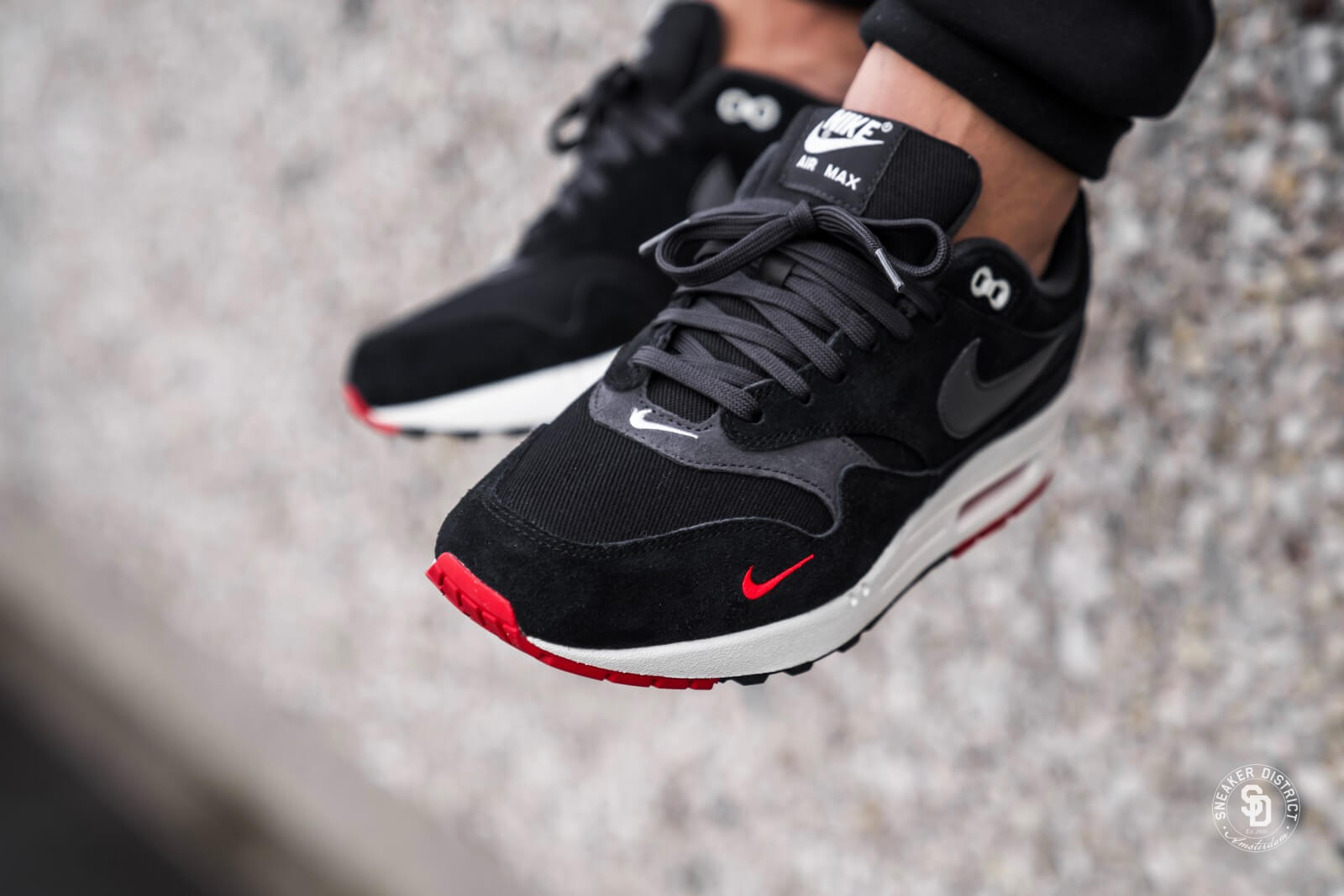 Nike Air Max 1 Premium Black Gum | AH8145 007