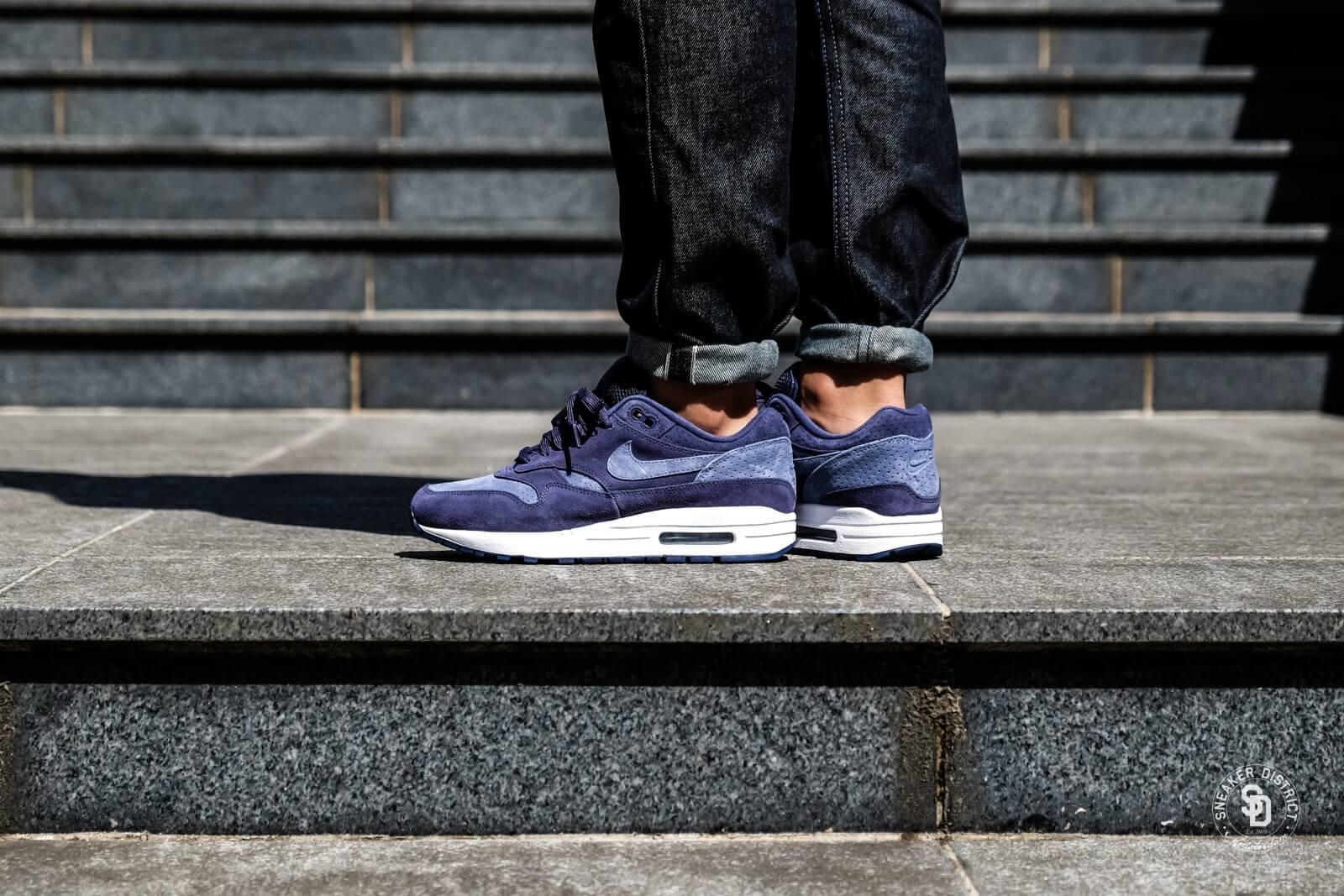 Nike Air Max 1 Premium Neutral IndigoDiffused Blue 875844 501