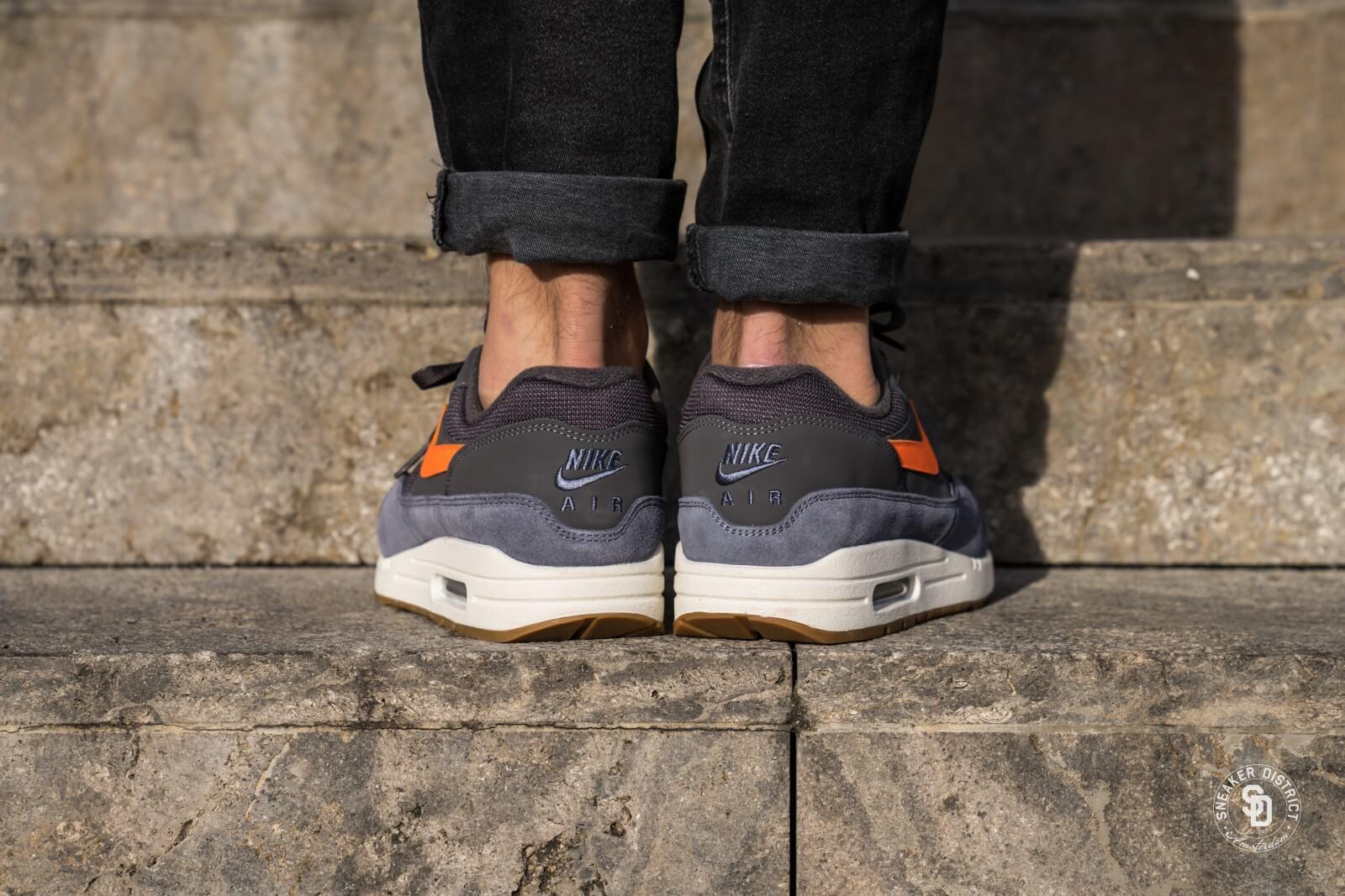air max 1 blue grey orange
