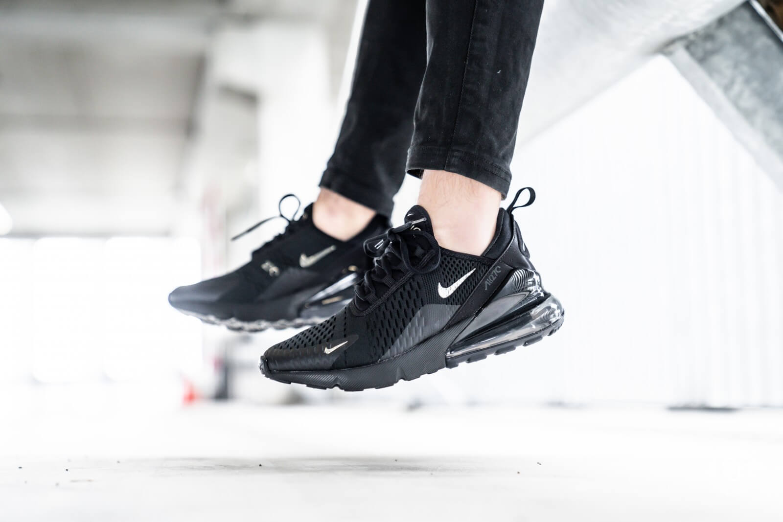vast selection cozy fresh online retailer Nike Air Max 270 Black/Chrome-Pure Platinum - CI2671-001