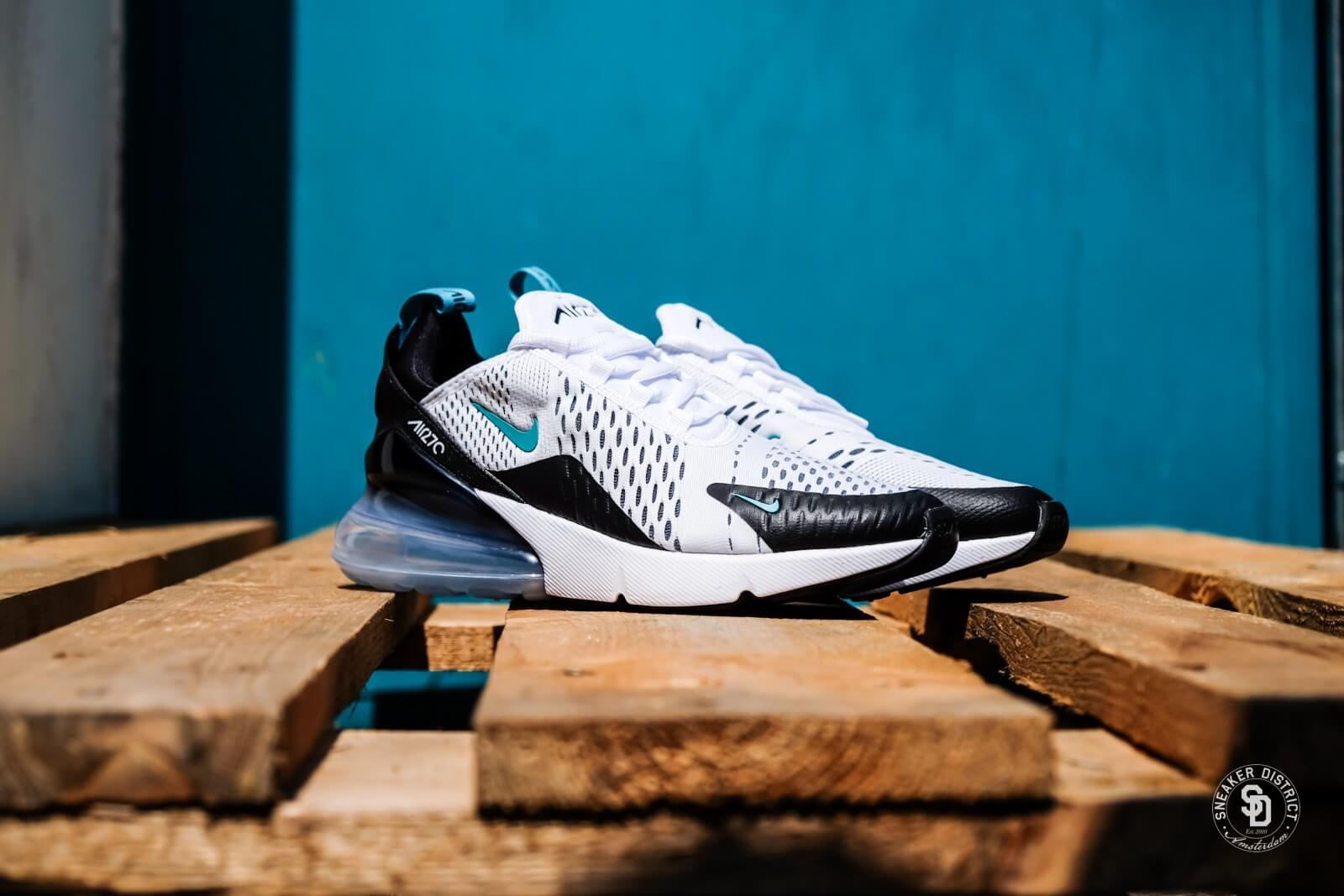 Nike Air Max 270 Shoe black white dusty cactus