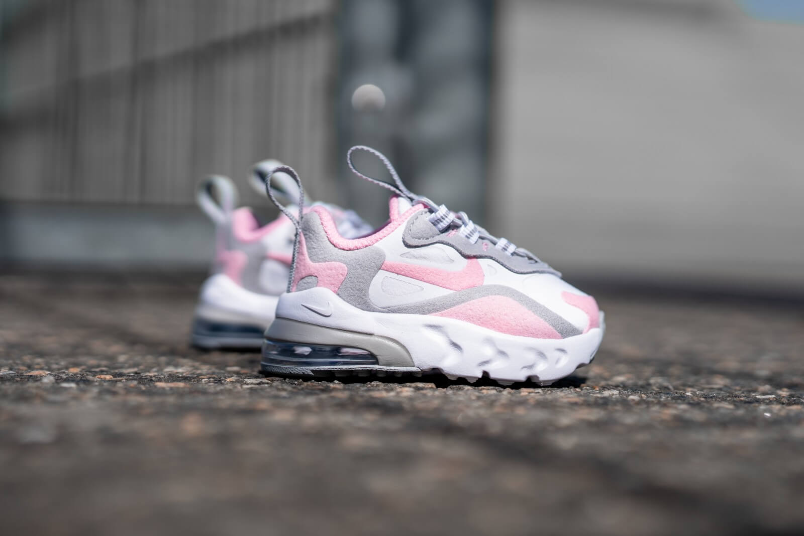 Nike Air Max 270 Rt Td White Pink Smoke Grey Cd2654 104
