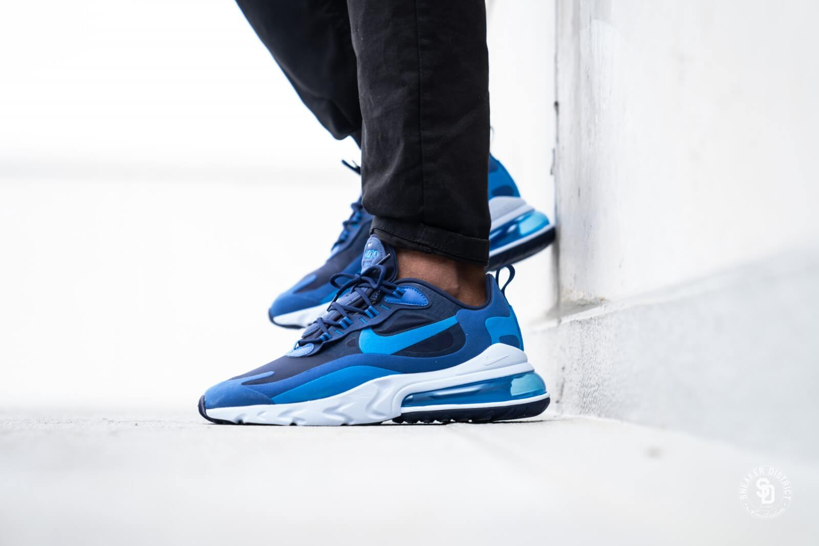 Nike Air Max 270 React Blue Void/Photo Blue - AO4971-400