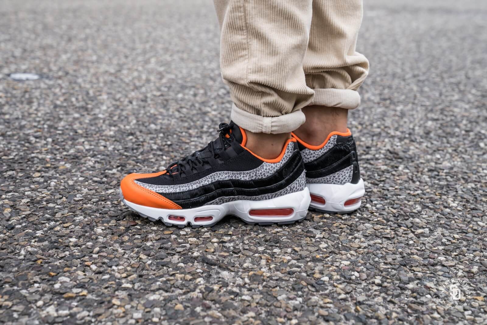 air max 95 noir et orange
