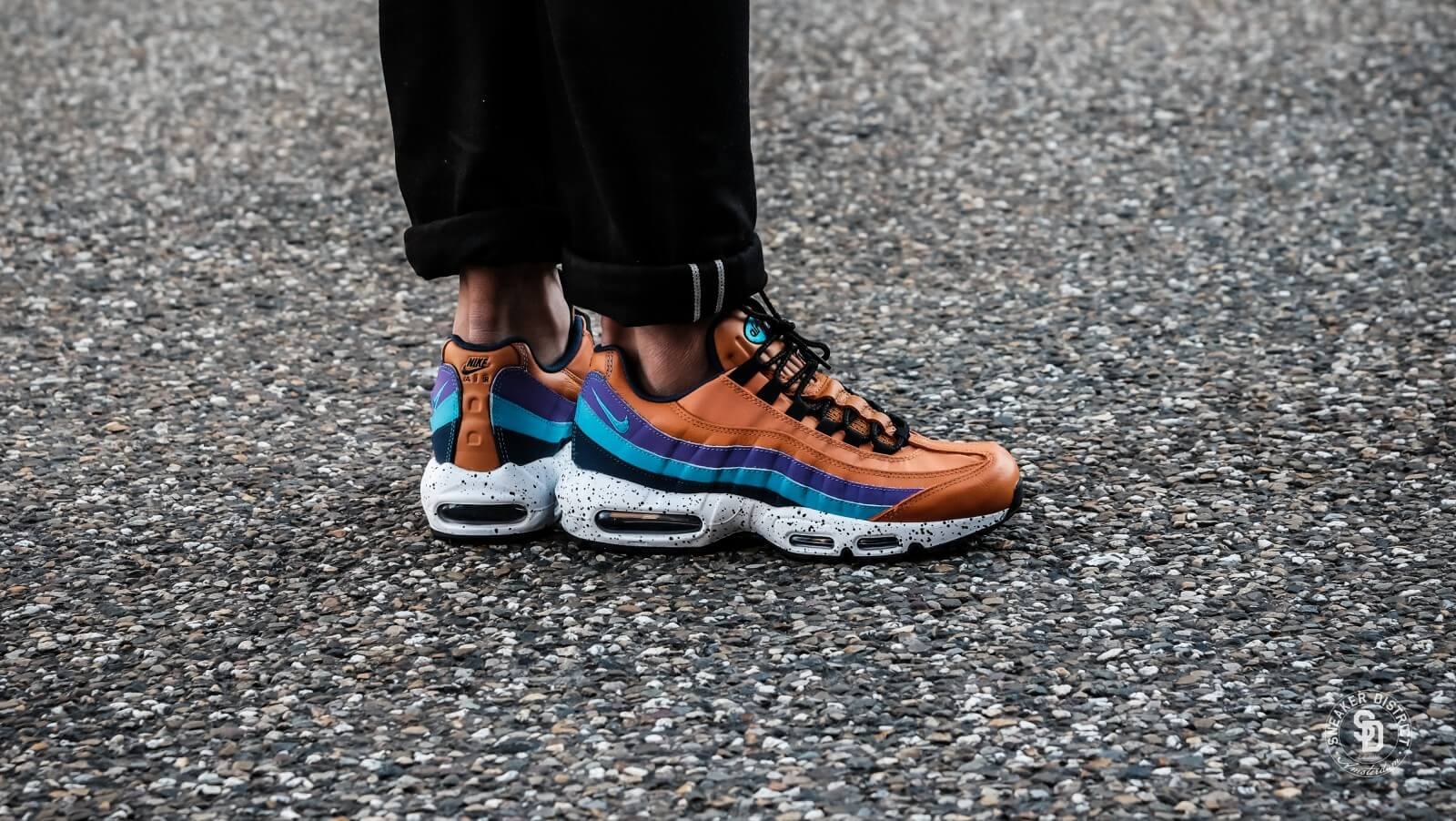 newest 045bf aa181 hot nike air max 95 blue yellow 28fe8 a1902