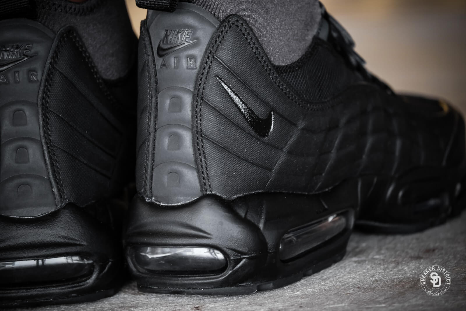 04852c6d7c ... wholesale nike air max 95 sneakerboot black anthracite white fc606 72cb5