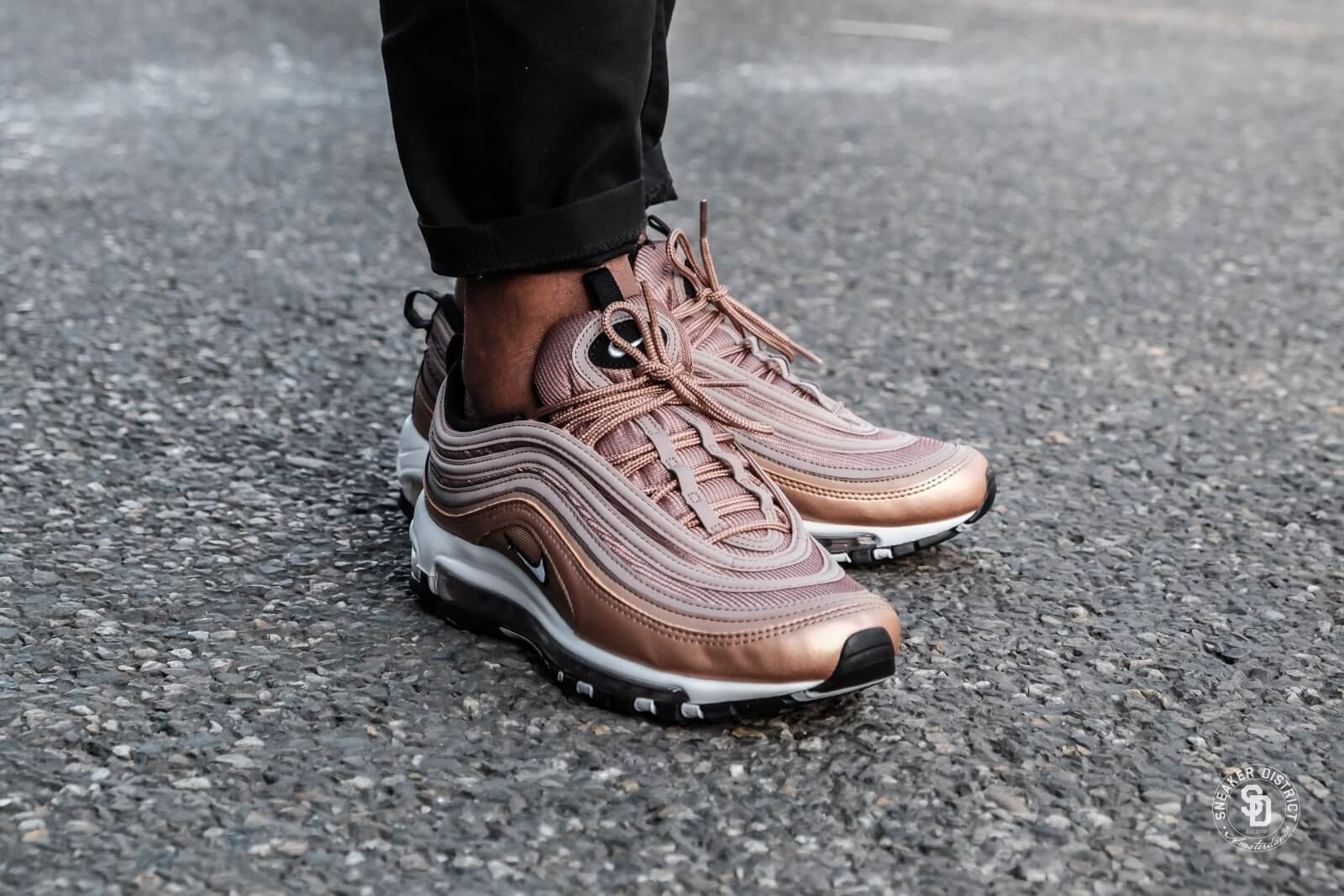 Nike Air Max 97 Desert DustWhite Metallic Red Bronze