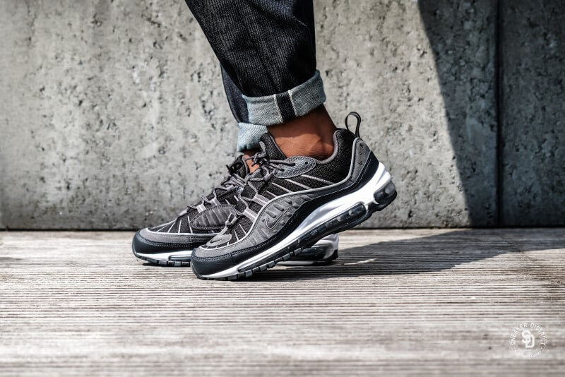 2859907d61a3 Nike Air Max 98 SE Black Anthracite-Dark Grey-White - AO9380-001