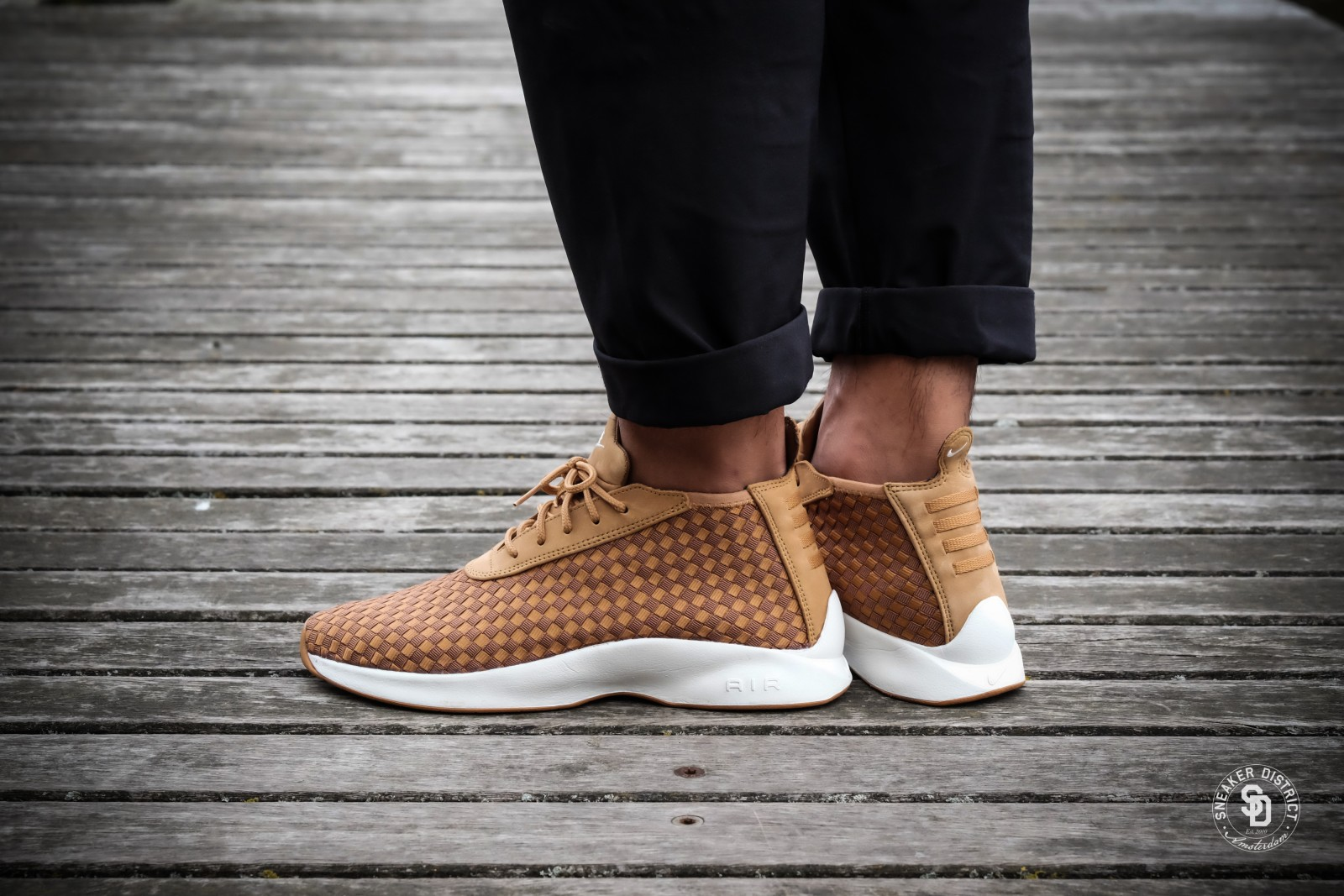 Nike Air Woven Boot Flax Ale Brown Gum Sneakers Bestellen