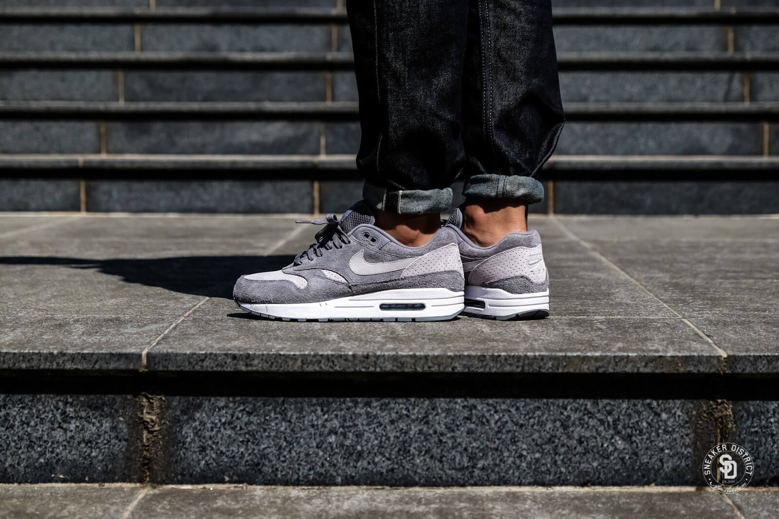 Nike Air Max 1 Premium Cool GreyWolf Grey 875844 005