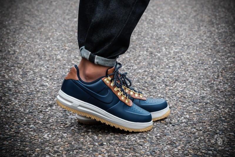 reputable site 0d2cd 5d9f6 Nike Lunar Force 1 Low Duckboot Obsidian Saddle Brown sneakers   Online  sneaker store   Sneaker District