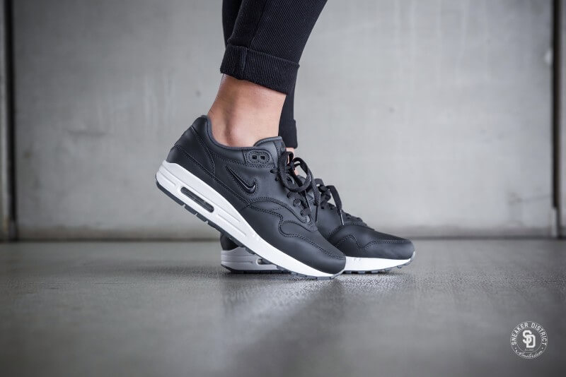 buy popular 9a361 2617c Nike Women s Air Max 1 Premium SC Jewel Anthracite Black-White - AA0512-003