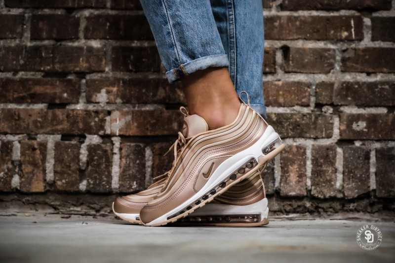 a59572a22829 Nike Women s Air Max 97 UL  17 Metallic Red Bronze ELM-Summit White  sneakers