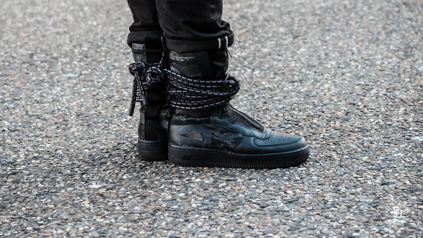 Nike SF Air Force 1 Hi Black/Dark Grey - AA1128-002