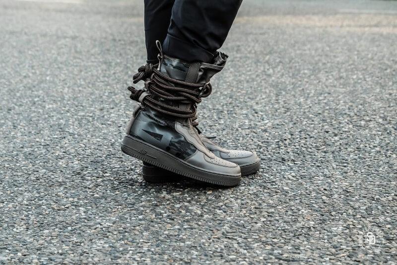 Nike SF Air Force 1 Hi Ridgerock Black-Sequoia - AA1128-203 21fc125885