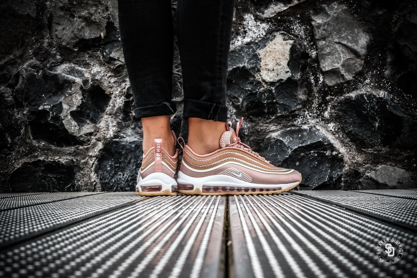 air max 97 feminino rose gold
