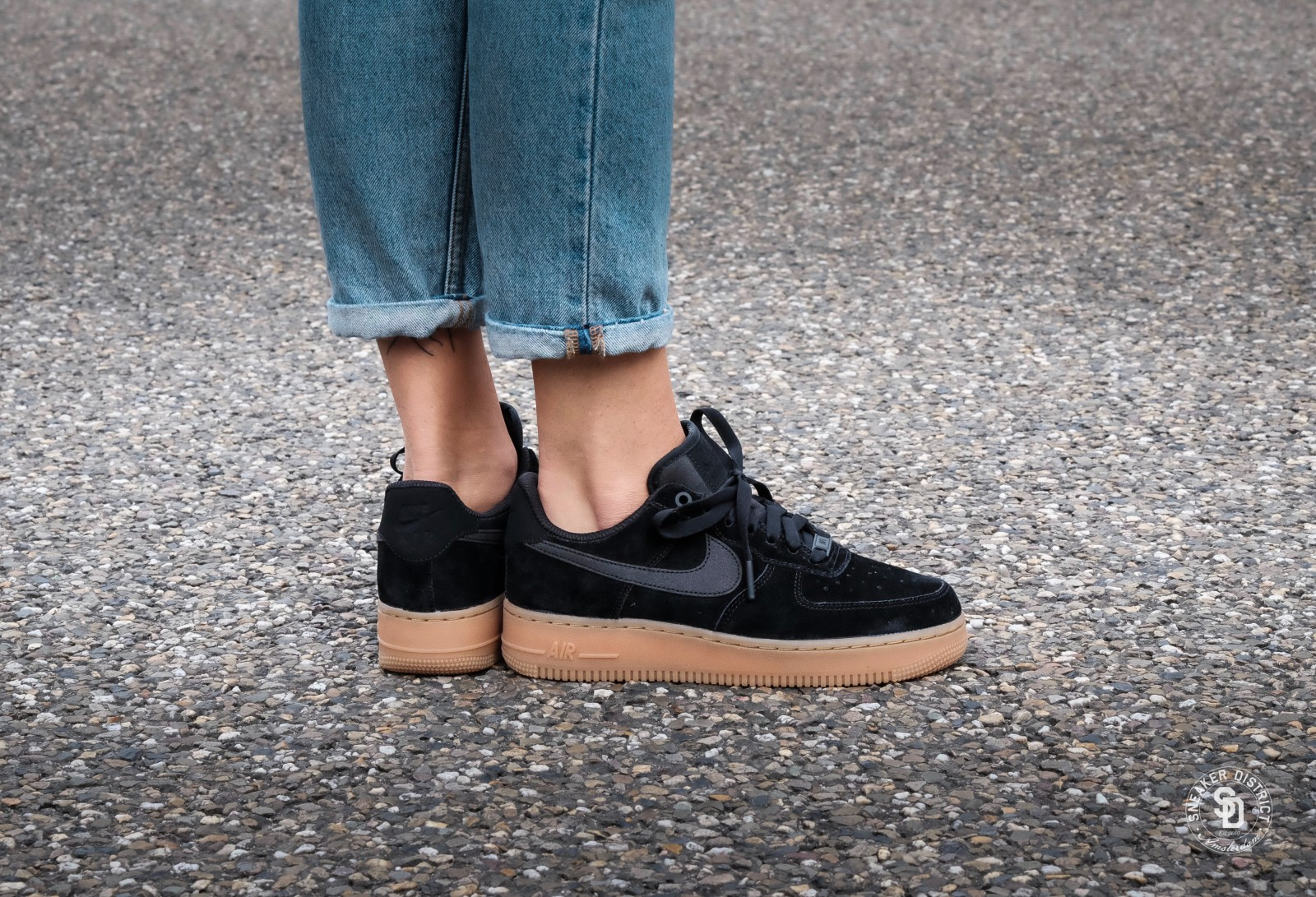 b8de10314f ... cheap nike air force 1 07 womens black . a47c8 03caa