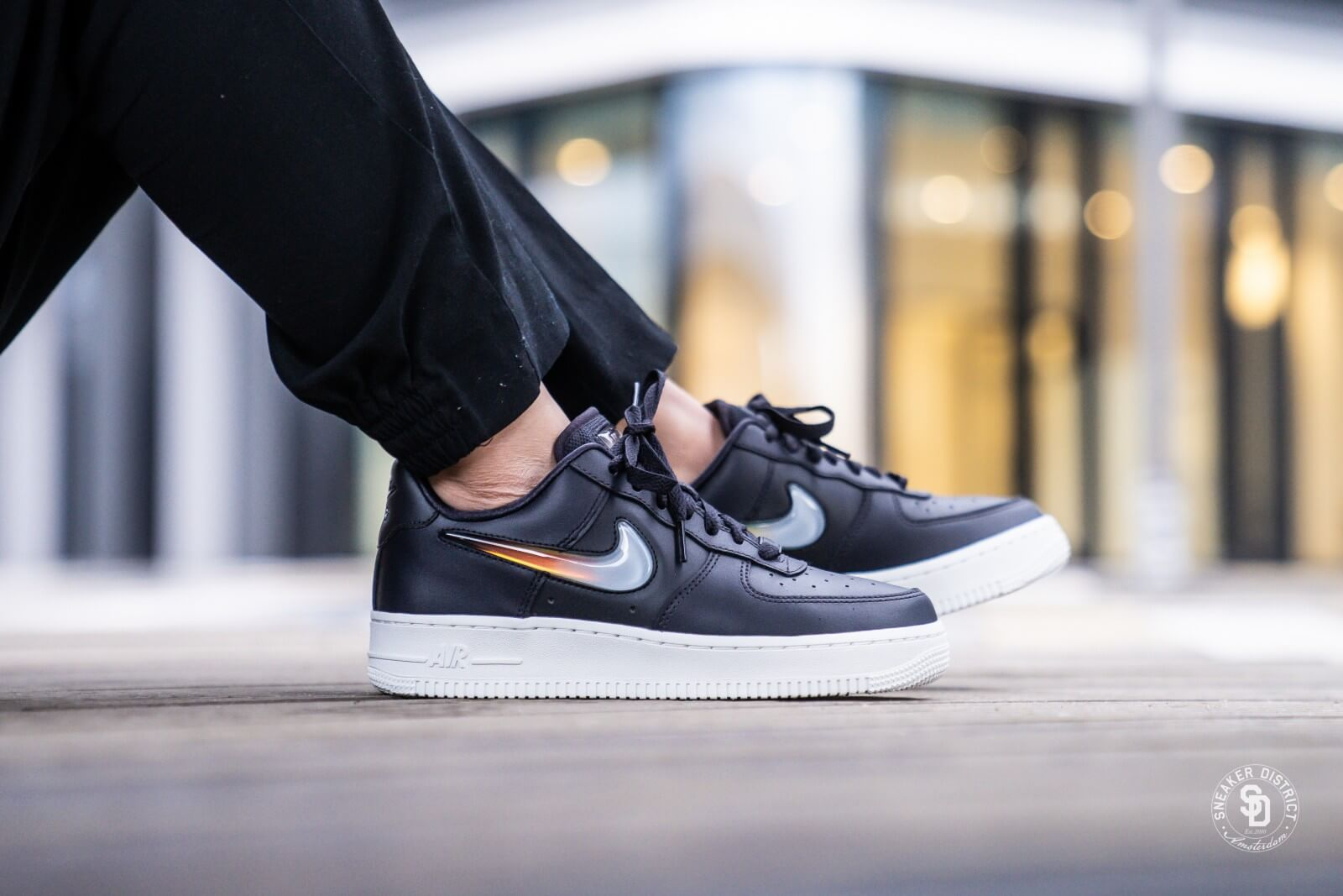 WMNS Nike Air Force 1 '07 SE Premium JP Oil GreyBright