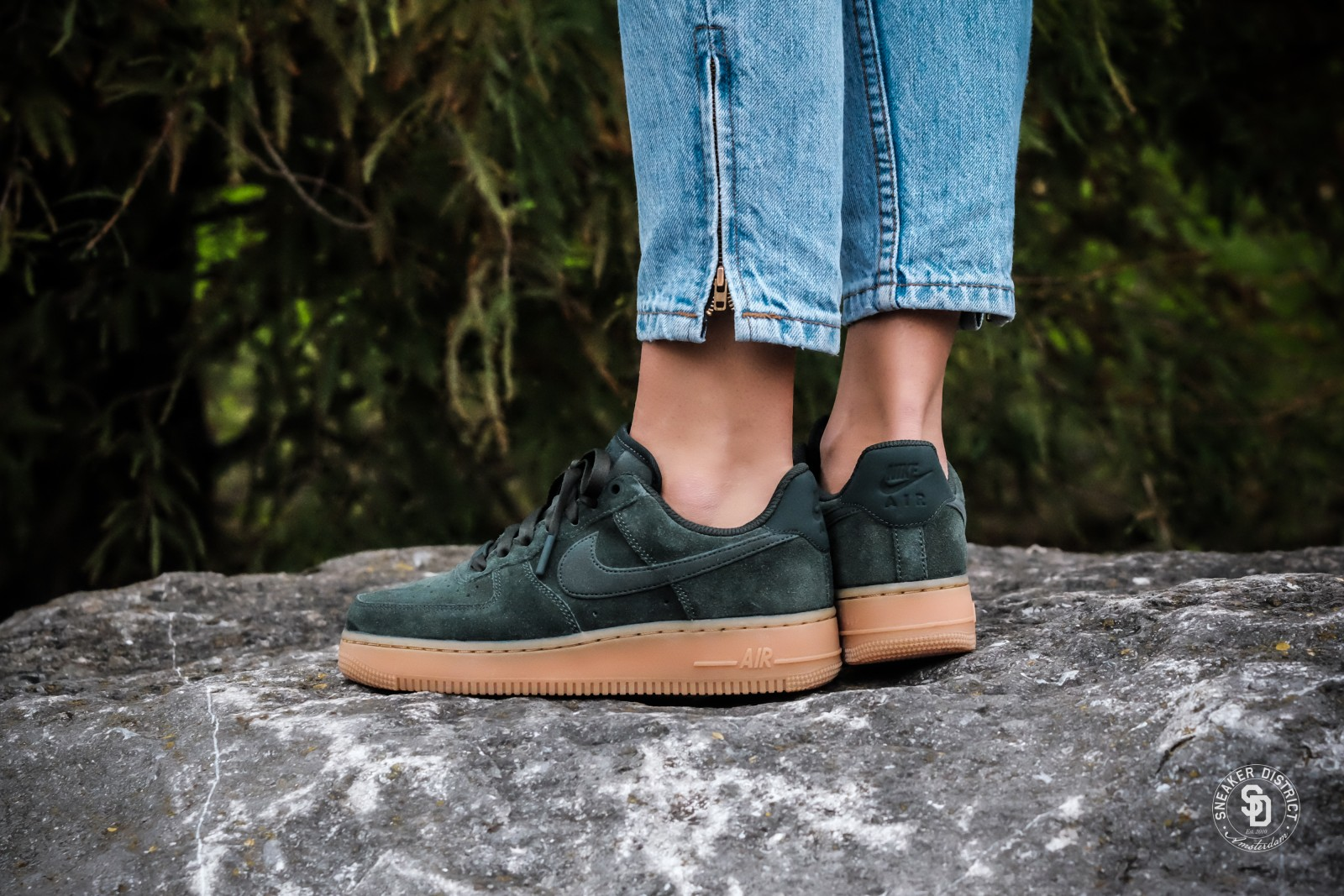 air force 1 07 se green