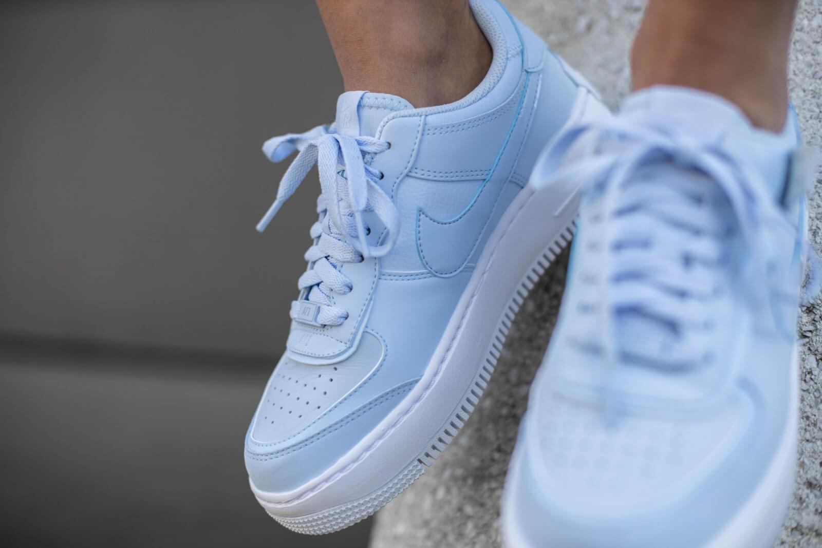 nike air force blu e bianche