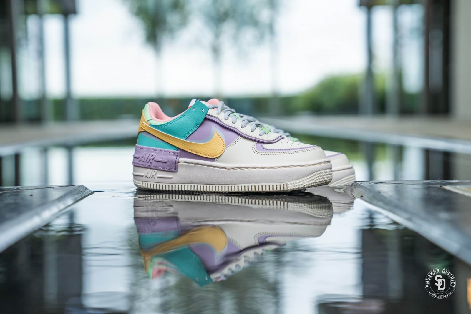 1)$50 $80 for Nike W Air Force 1 Shadow Pale Ivory Violet