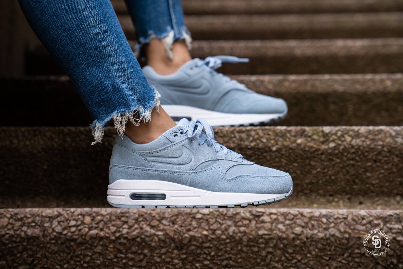 nike air max blauw dames