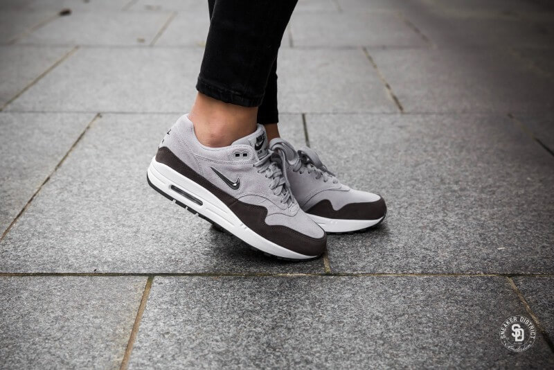 60868ce60e47 Nike Women's Air Max 1 Premium SC Jewel Wolf Grey/Metallic Pewter dames  sneakers | Sneaker District