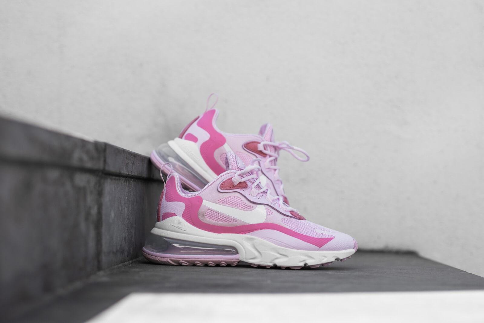Nike Women S Air Max 270 React Pink Foam White Digital Pink