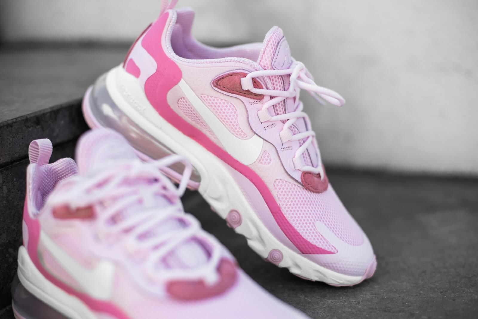 Nike Women S Air Max 270 React Pink Foam White Digital Pink
