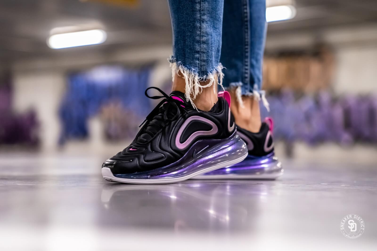 Nike Air Max 720 SE 100 Women's Running Shoes Cd2047 100 Size 8