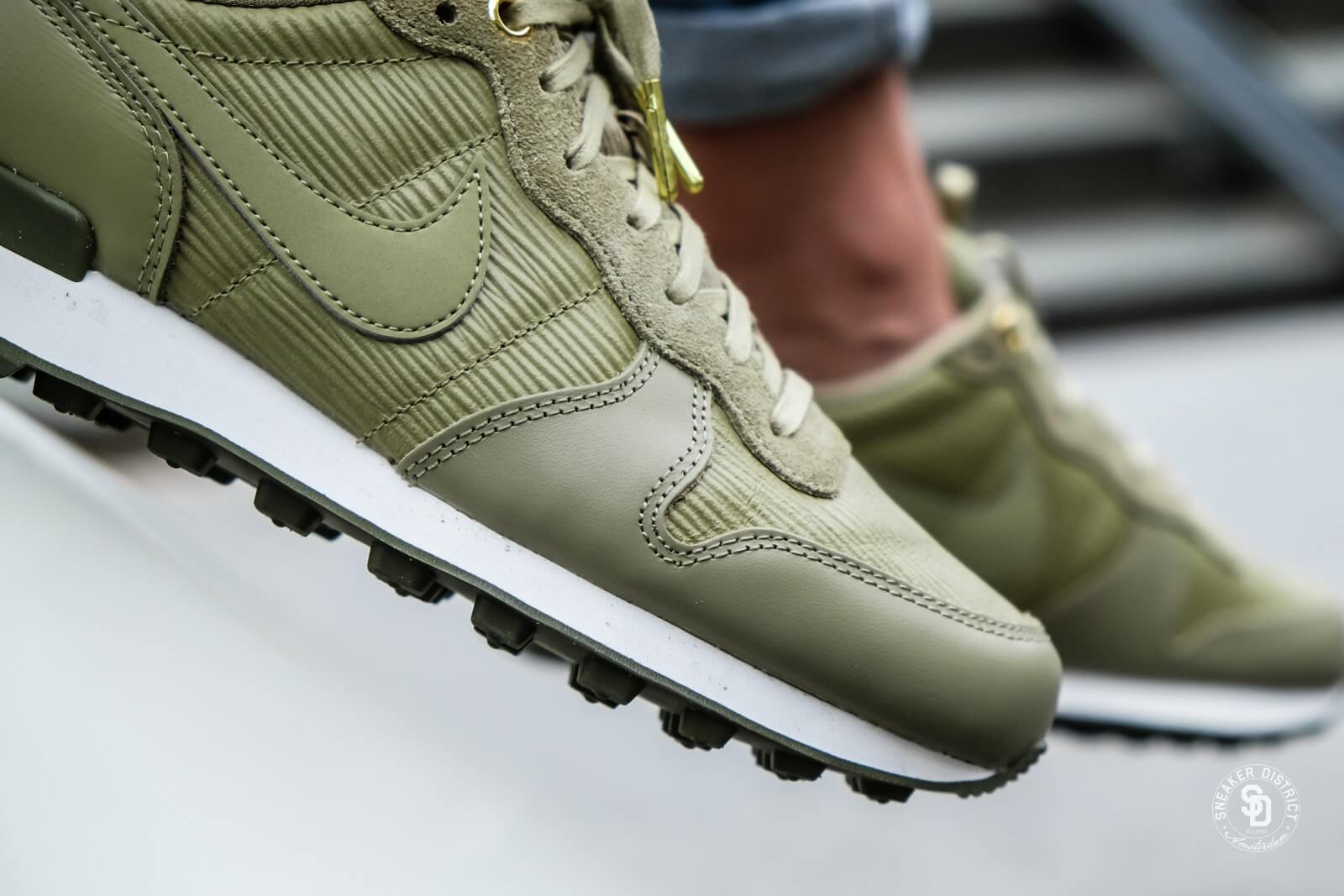 nike internationalist khaki dames