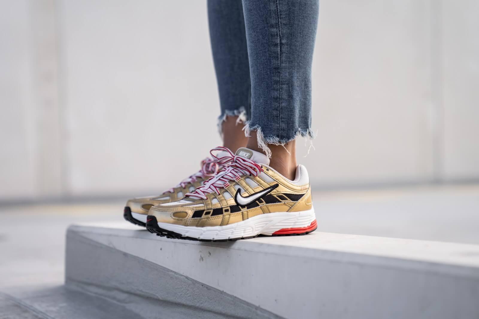 Nike Women S P 6000 Light Bone Summit White Gold Bv1021 007