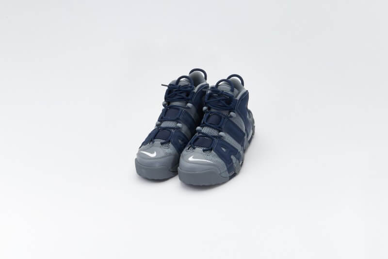Nike Air More Uptempo '96 Cool Grey/White-Midnight Navy