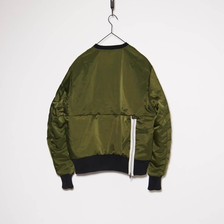 Nike NSW Essentials Plus Crewneck Rough Green / Black