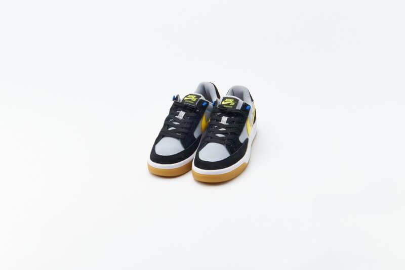 Nike SB Adversary Premium Black / Yellow Strike - Wolf Grey