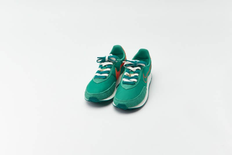 Nike Waffle Trainer 2 Green Noise / Orange - Sail