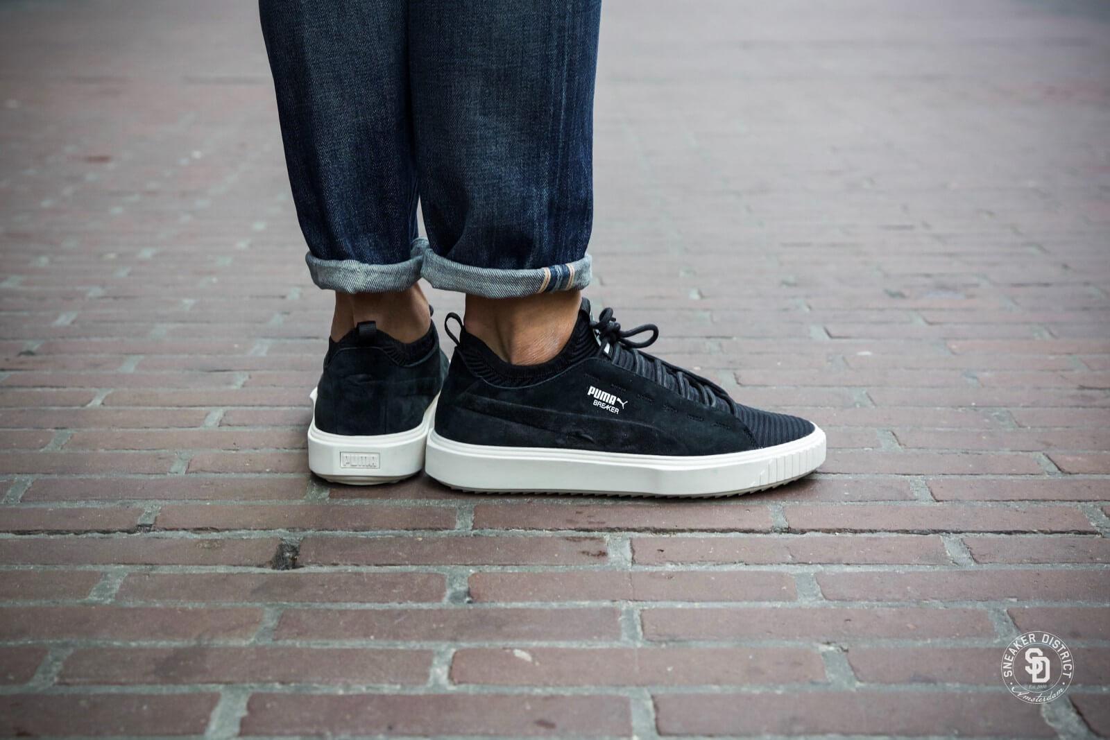 official photos exclusive deals official shop Puma Breaker Knit Sunfaded Puma Black/Whisper White - 0365345 01